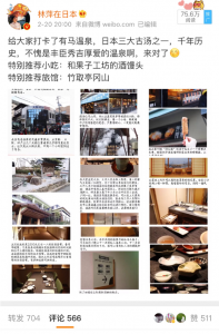 林萍在日本(リンピンザイリーベン)の観光地のインバウンドプロモーション事例